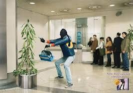 rapina all'ufficio postale