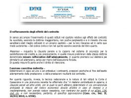 il rafforzamento degli effetti del contratto 1 la clausola penale 2 la caparra confirmatoria 3 la caparra penitenziale 1