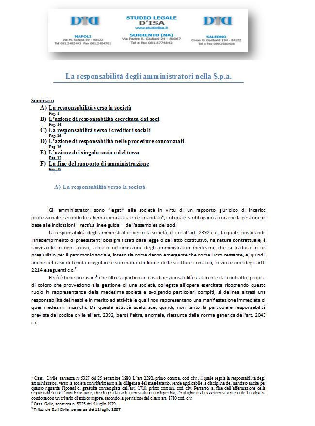 Corte di Cassazione, sezione I, sentenza 27 dicembre 2013 ...