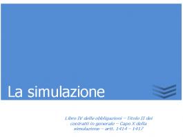 la simulazione 1