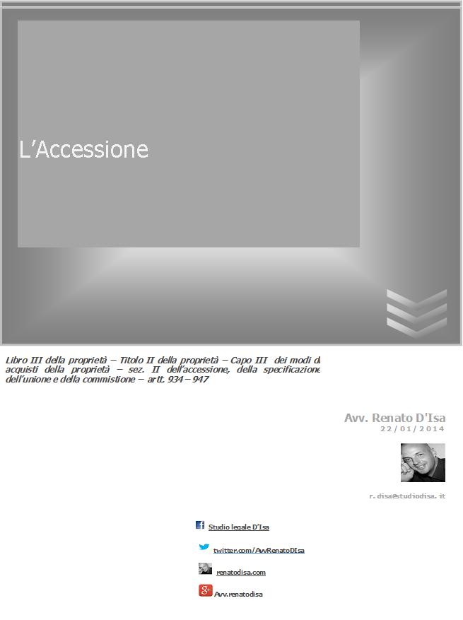 L'Accessione