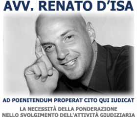 Avvocato Renato D'Isa Logo